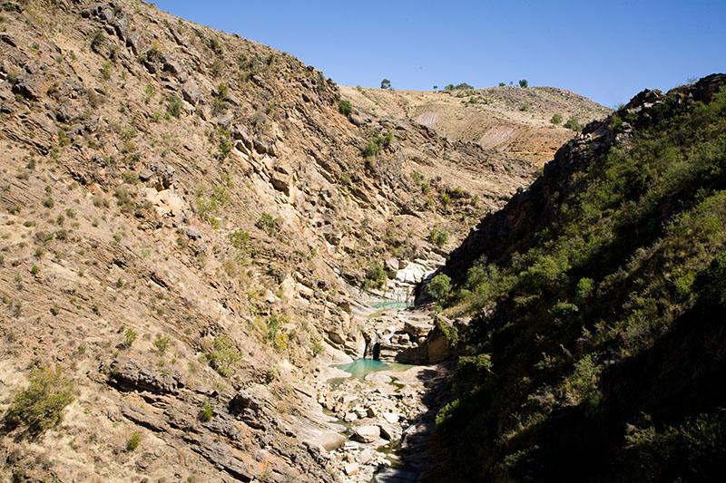 sucre waterfalls