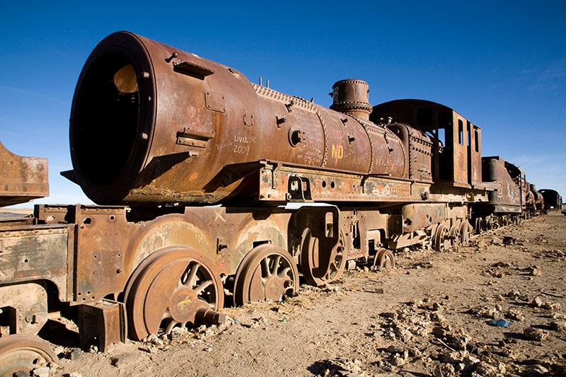 trains cemetery
