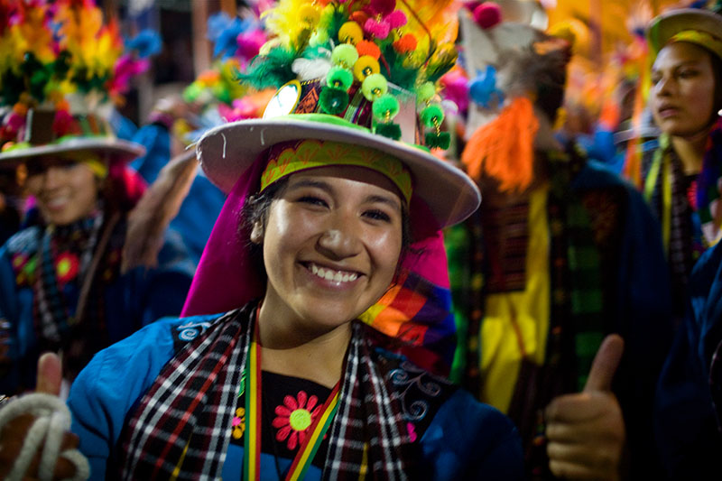 la paz fiesta street party
