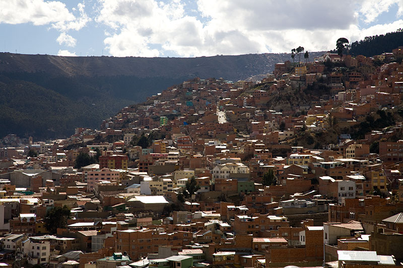 la paz panorama views