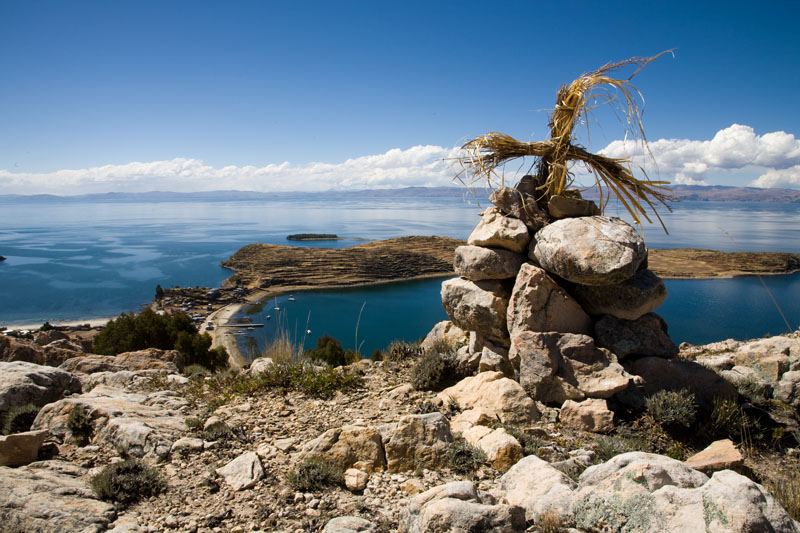 isla del sol, titikaka, bolivia