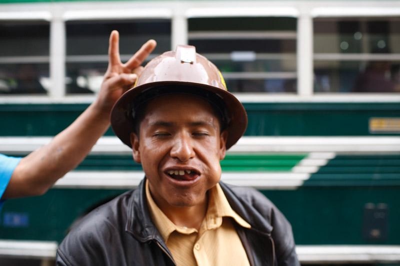 mineros, protesta, miners, protest, la paz, bolivia, cerro negro