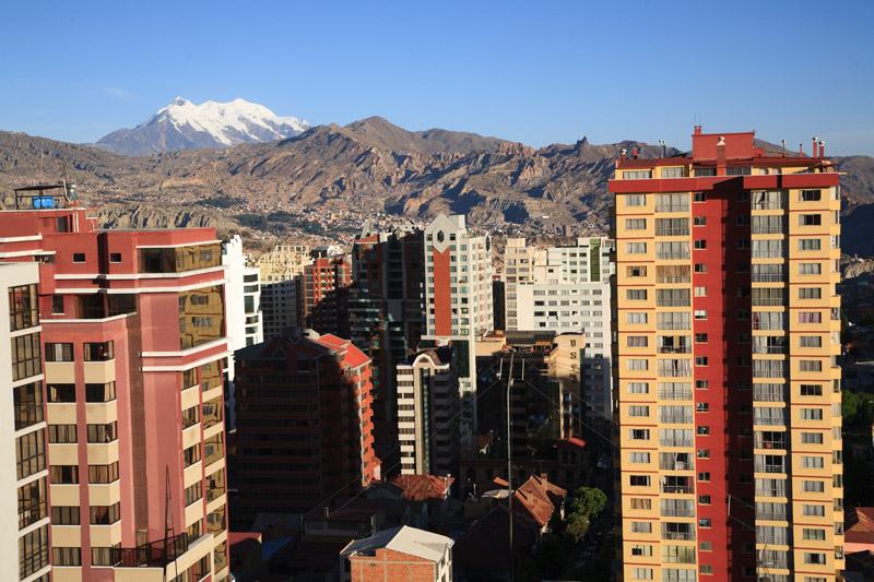 La Paz, Sopocachi, view