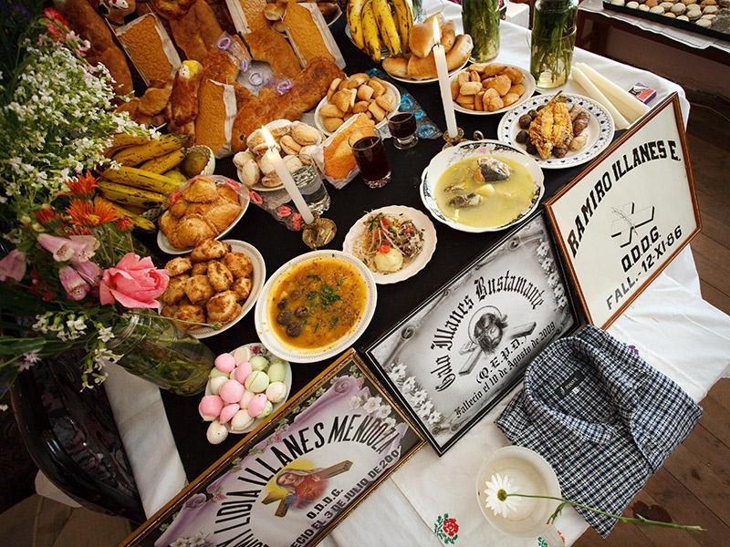 todos santos, mesa, copacabana, bolivia