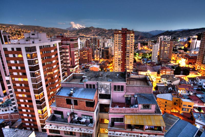 mieszkanie w La Paz, 17 pietro, 100m2, 324USD/mc