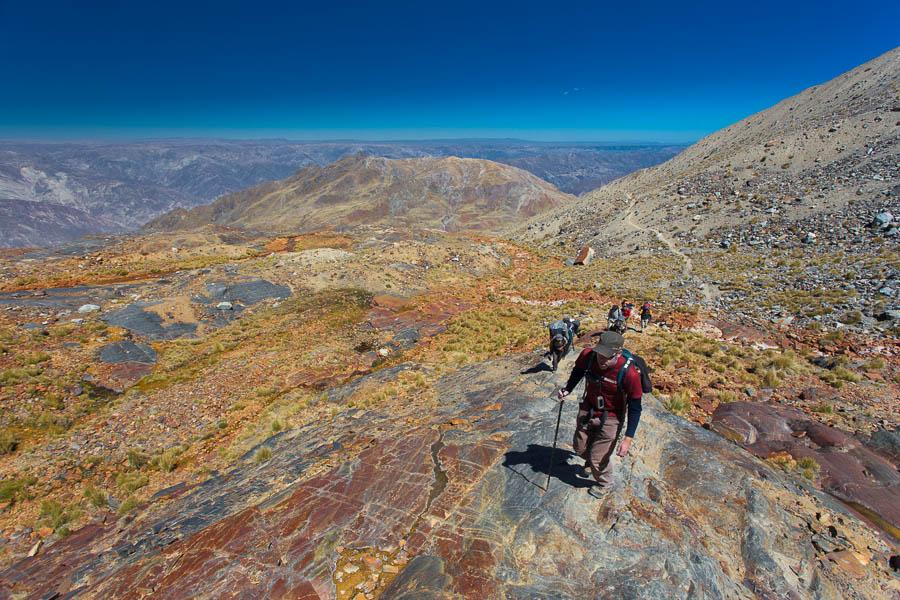 Illimani climb - 6438m - Szymon [www.mywayaround.com]