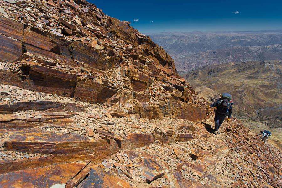 Illimani climb - 6438m - Szymon Kochański [www.mywayaround.com]
